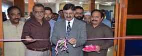 PU Pro VC inaugurates book exhibition on Seerat-un-Nabi (PBUH) at library