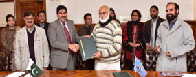 PU, DG Archaeology sign MoU